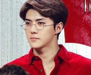 exo, sehun, and glasses image