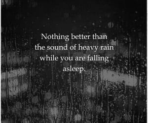 rain, quotes, and sleep image