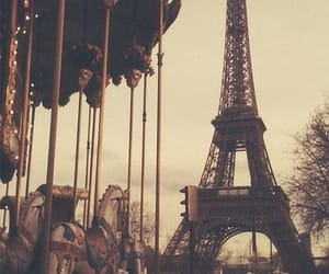 aesthetic, carousel, and france image