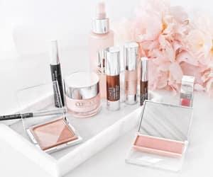 makeup, pink, and beauty image