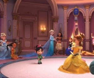 disney, princess, and wreck-it ralph image