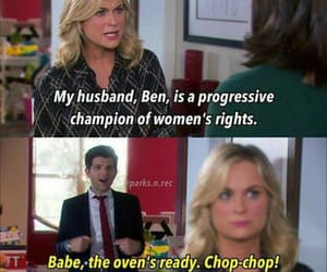 parks and recreation, leslie knope, and leslie and ben image