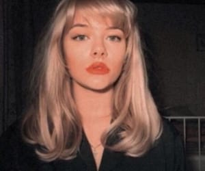 vintage, blonde, and aesthetic image