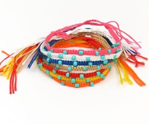 beach, boho, and bracelet image