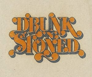 brown, drunk, and hippie image