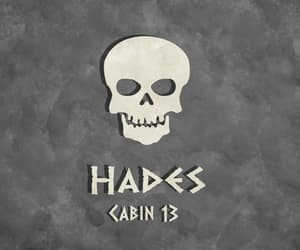 hades, cabin 13, and percy jackson image