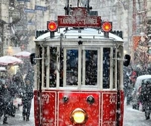 istanbul, snowfall, and snow image