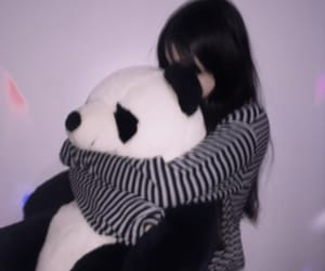 girl, kawaii, and panda image