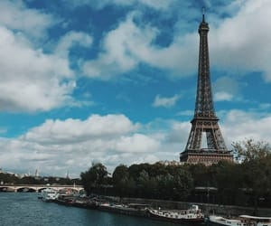 beauty, paris, and whi image