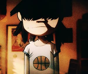 gif, gorillaz, and noodle image