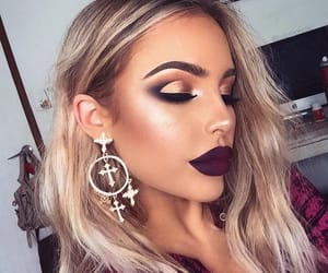 makeup, girl, and beautiful image