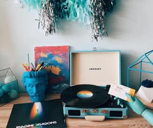 blue, home, and music image