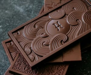 chocolate and chocolate bar image
