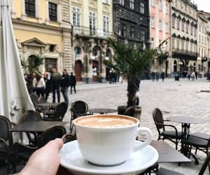 city, coffee, and places image