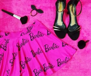 barbie, hot pink, and pink image