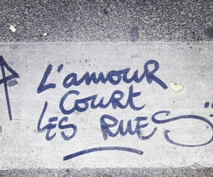 amour, l'amour, and art image