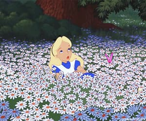 gif, alice, and alice in wonderland image