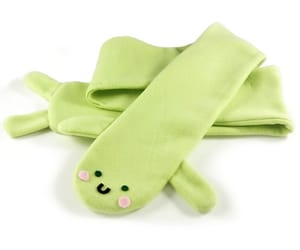 etsy, green scarf, and lizard image