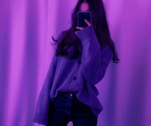 purple, aesthetic, and tumblr image