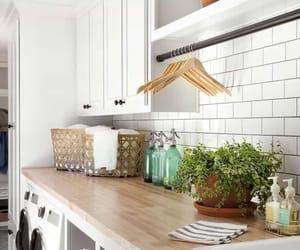 farmhouse, inspiring interiors, and laundry room designs image