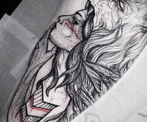 grunge, tatuajes, and lobos image