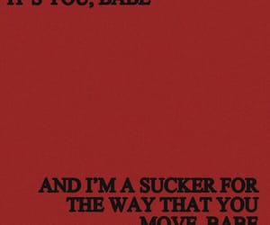 quotes, red, and Lyrics image
