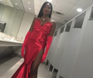 me, Prom, and red image