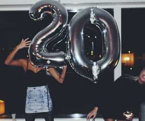 girl, birthday, and 20 image