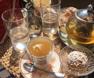 food and tea image