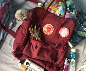 aesthetic, red, and kanken image