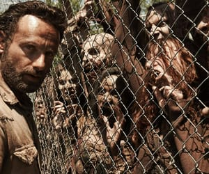 zombie, rick grimes, and the walking dead image