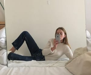 mirror, not mine, and selfie image