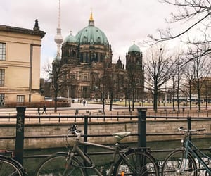 bike, city, and places image