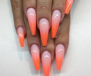 nails and orange image