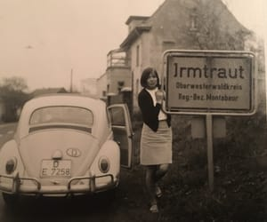 beetle, model, and vintage image