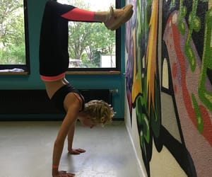 handstand, 💪, and sports image