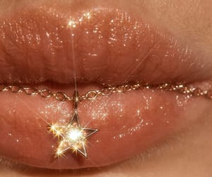 lips, stars, and aesthetic image