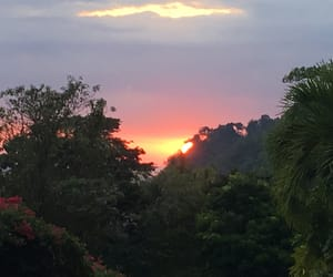 aesthetic, costa rica, and sunset image