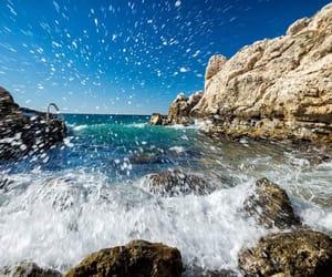 beautiful places, blue, and Croatia image