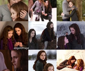 bella cullen, hybrid, and renesmee image