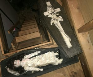 creepy, doll, and goth image