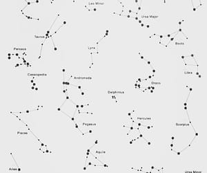 stars, constellation, and tattoo image