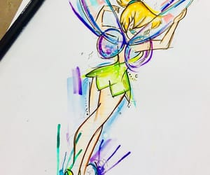 disney and tinkerbell image