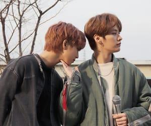 Chan, jisung, and woojin image