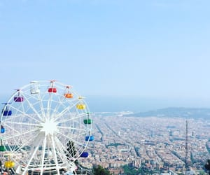 Barcelona, spain, and tibidabo image