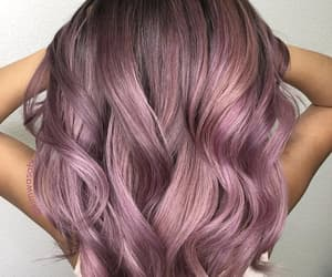 colored, hair, and pink hair image