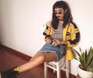grunge, fashion, and yellow image