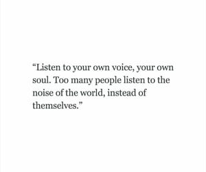 quotes, listen, and soul image
