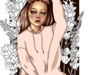 art, girl, and picoftheday image