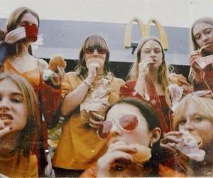 McDonalds, food, and girls image